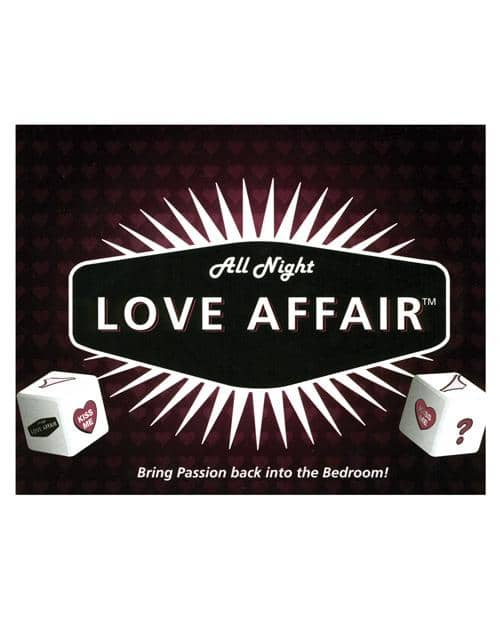 All Night Love Affair Game - Little Genie Productions LLC - Climactic Adventures