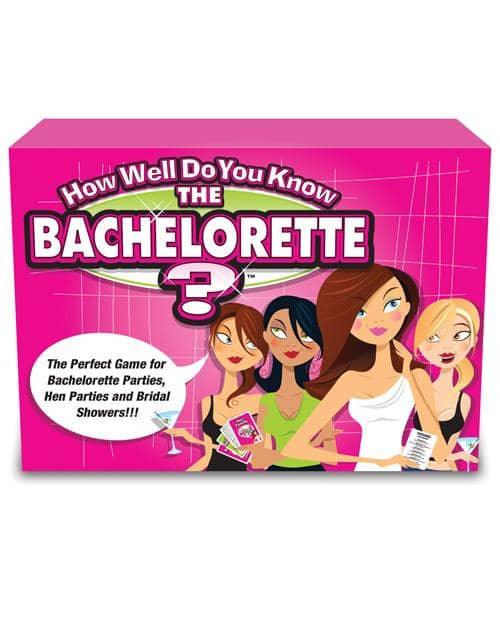 How Well Do You Know The Bachelorette-bride? Game - Climactic Adventures