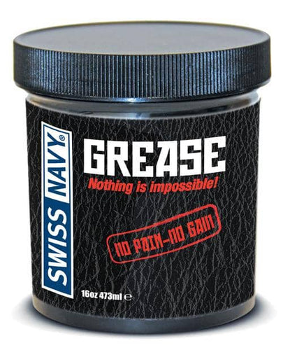 Swiss Navy Grease - 16 Oz Jar - M.D. Science Lab - Climactic Adventures
