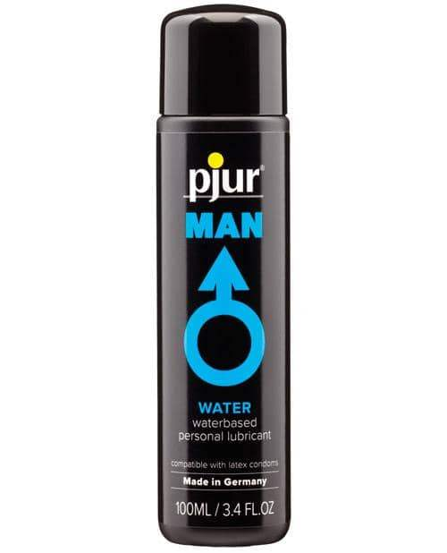 Pjur Man Water Based Personal Lubricant - 100 Ml Bottle - Pjur Group U.S.A. - Climactic Adventures