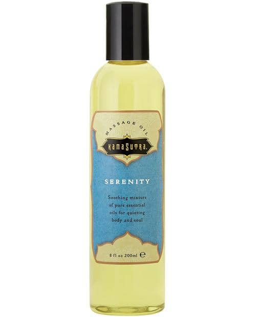 Kama Sutra Aromatic Oil - 8 Oz Serenity - Kama Sutra - Climactic Adventures