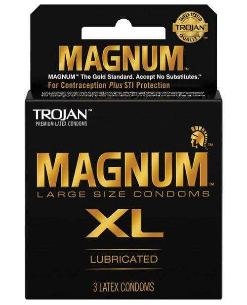Trojan Magnum Xl - Pack Of 3 - Paradise Marketing - Climactic Adventures