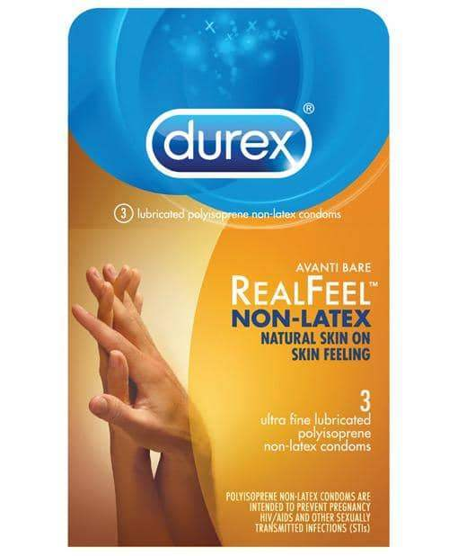 Durex Avanti Real Feel Non Latex Condoms - Pack Of 3 - Paradise Marketing - Climactic Adventures