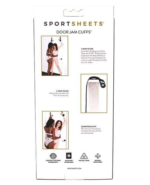 Sportsheets Door Jam Cuffs - Sportsheets International - Climactic Adventures