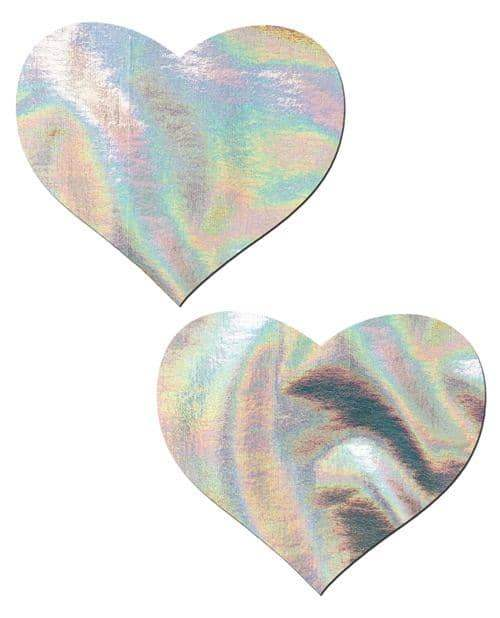 Pastease Hologram Heart - Silver O-s - Pastease - Climactic Adventures