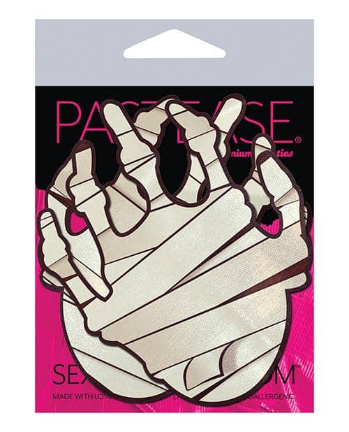Pastease Mummy Hands - White O-s - Climactic Adventures