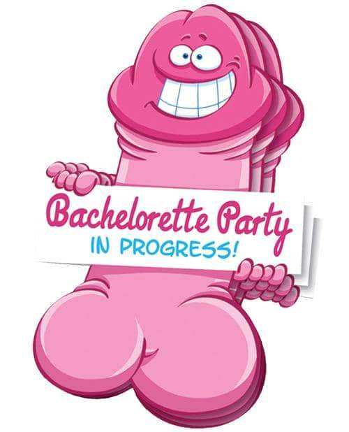Bachelorette Pecker Wall Decorations - Ozze Creations INC - Climactic Adventures
