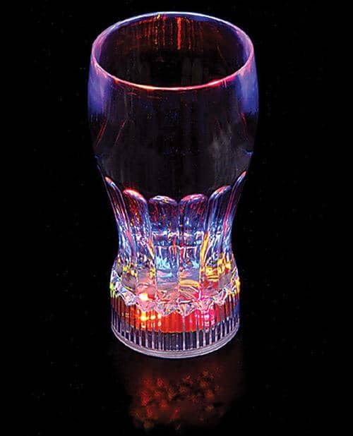 "5.75"" Flashing Glass - 10 Oz - Climactic Adventures"