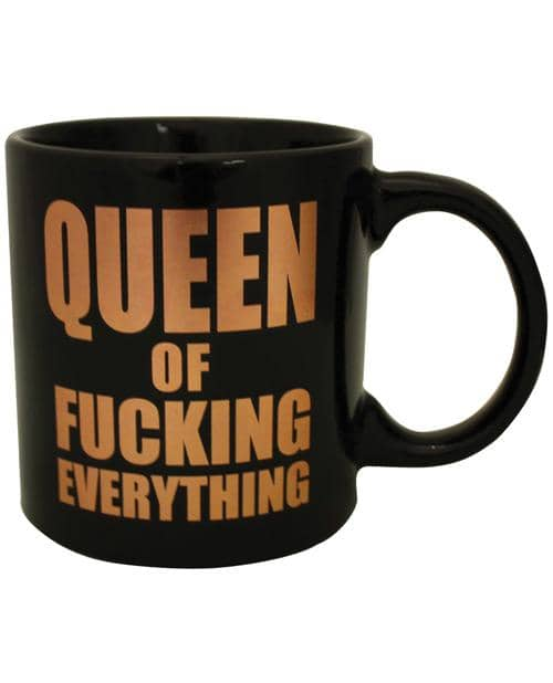 Attitude Mug Queen Of Fucking Everything - Climactic Adventures