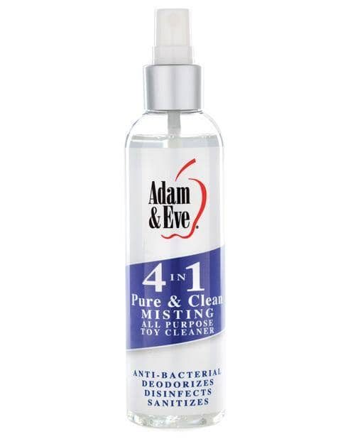 Adam & Eve 4 In 1 Pure & Clean Misting Cleaner - 4oz - Evolved Novelties INC - Climactic Adventures