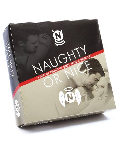Naughty Or Nice - A Trio Of Games To Tempt, Tease, & Tantilize - Climactic Adventures
