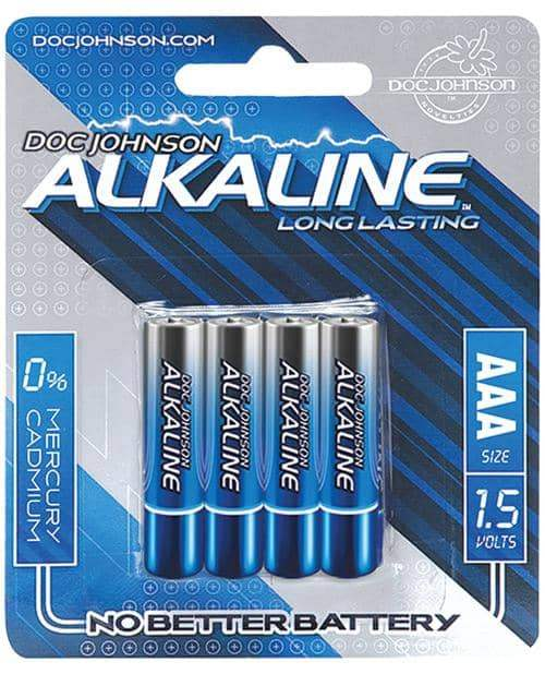 Doc Johnson Alkaline Batteries - Aaa 4 Pack - Doc Johnson - Climactic Adventures