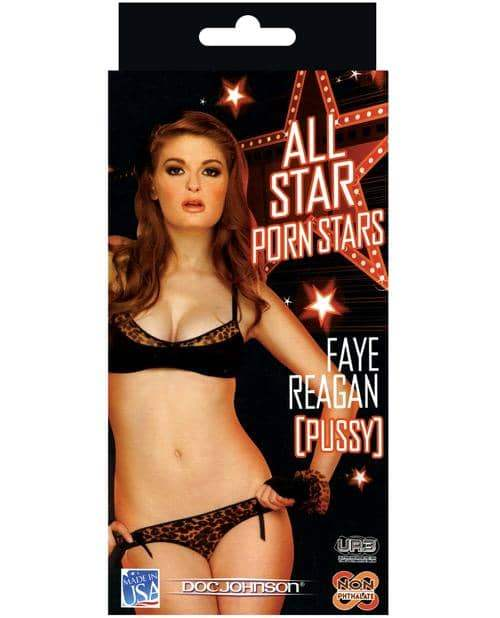 All Star Porn Stars Ultraskyn Pocket Pal - Faye Reagan - Doc Johnson - Climactic Adventures