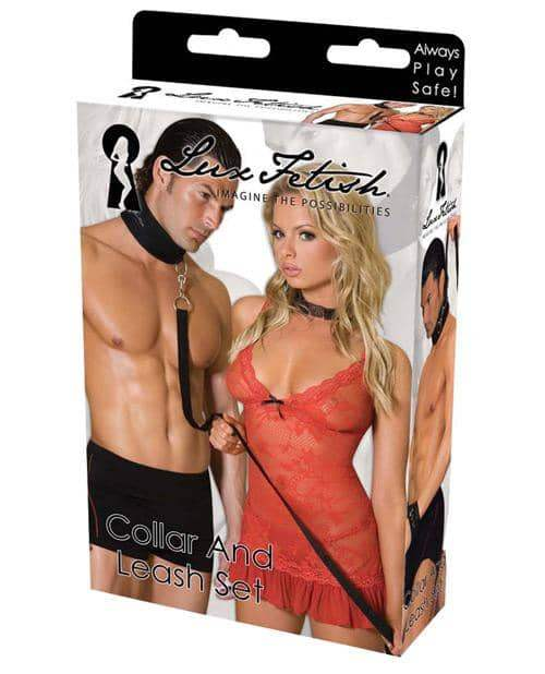 Lux Fetish Collar & Leash Set - Electric Eel INC - Climactic Adventures