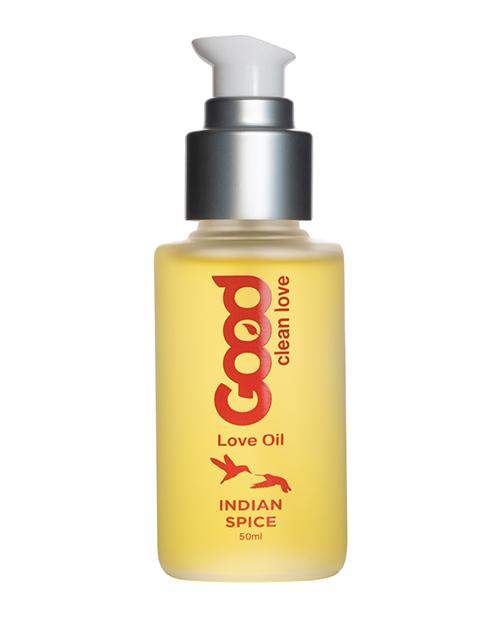 Good Clean Love Indian Spice Love Oil - 50 Ml - Good Clean Love - Climactic Adventures