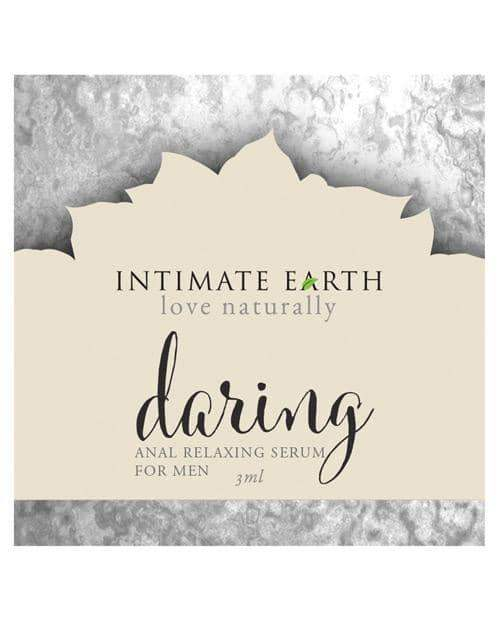 Intimate Earth Daring Anal Relax Foil - 3 Ml Foil - New Earth Trading LLC - Climactic Adventures