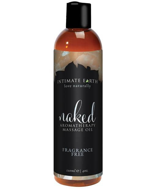 Intimate Earth Massage Oil - 120 Ml Naked - New Earth Trading LLC - Climactic Adventures