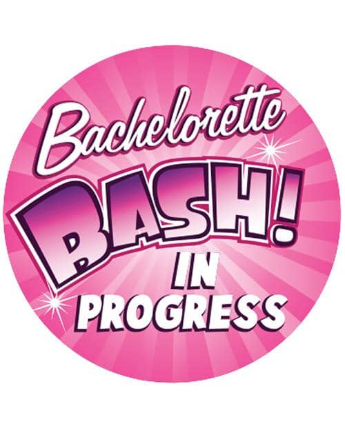 "Bachelorette 3"" Button - Bachelorette Bash In Progress - Climactic Adventures"