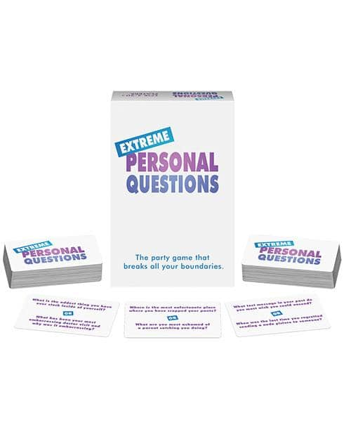 Extreme Personal Questions Game - Climactic Adventures