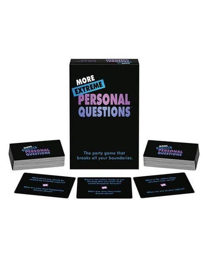 More Extreme Personal Questions Party Game - Climactic Adventures