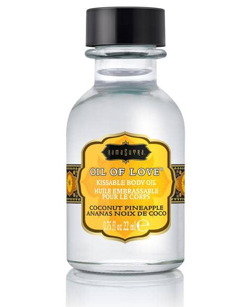 Kama Sutra Oil Of Love - .75 Oz Coconut Pineapple - Kama Sutra - Climactic Adventures