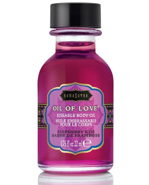 Kama Sutra Oil Of Love - .75 Oz Raspberry Kiss - Kama Sutra - Climactic Adventures
