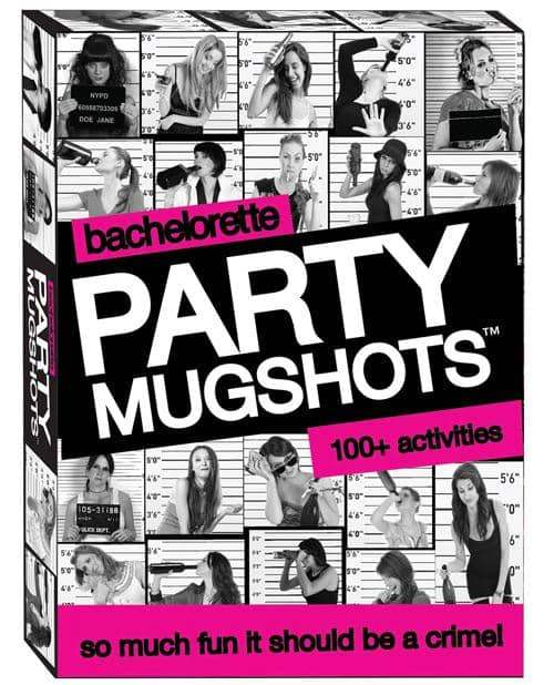 Bachelorette Party Mugshots Card Game - Little Genie Productions LLC - Climactic Adventures