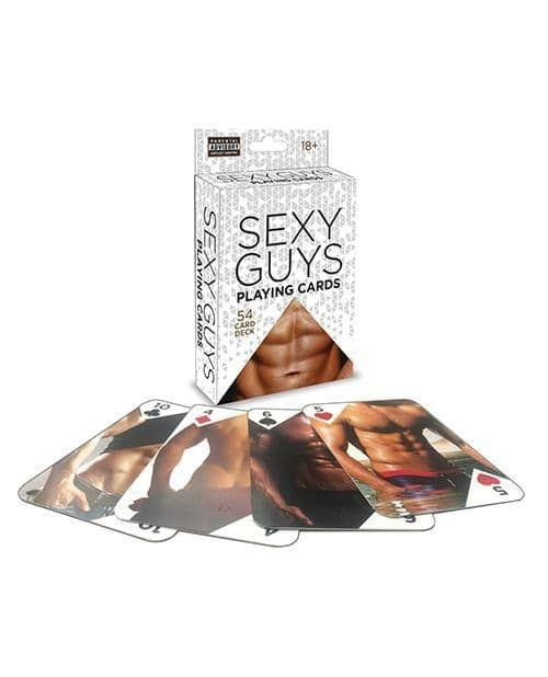 Sexy Guys Playing Card Deck - Climactic Adventures