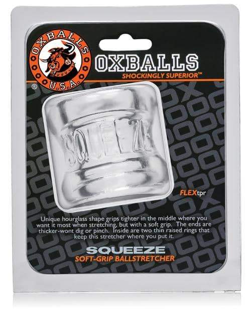 Oxballs Squeeze Ball Stretcher - Clear - Blue Ox Designs LLCDba Oxballs - Climactic Adventures