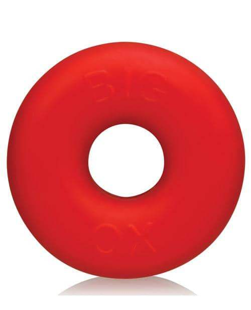 Oxballs Big Ox Cockring - Red Ice - Blue Ox Designs LLCDba Oxballs - Climactic Adventures