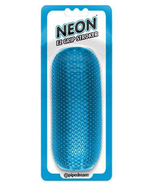 Neon Luv Touch Ez Grip Stroker - Blue - Pipedream Products - Climactic Adventures