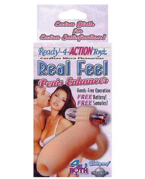 Ready-4-action Real Feel Penis Enhancer - Pipedream Products - Climactic Adventures