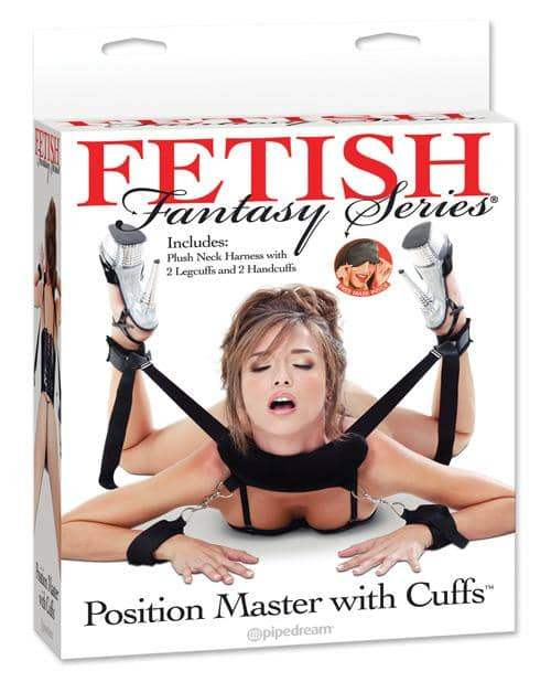 Fetish Fantasy Series Position Master W-cuffs - Pipedream Products - Climactic Adventures