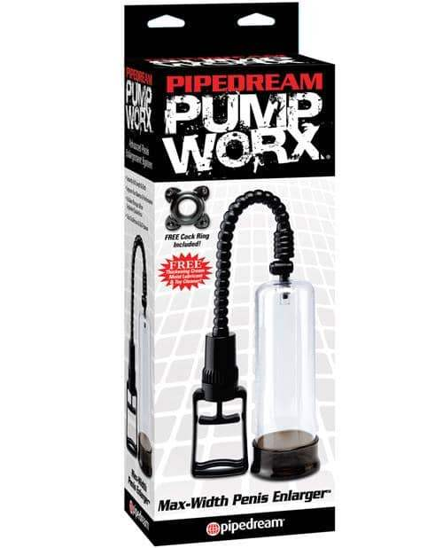 Pump Worx Max Width Penis Enlarger - Pipedream Products - Climactic Adventures
