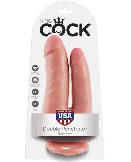 King Cock Double Penetrator - Flesh