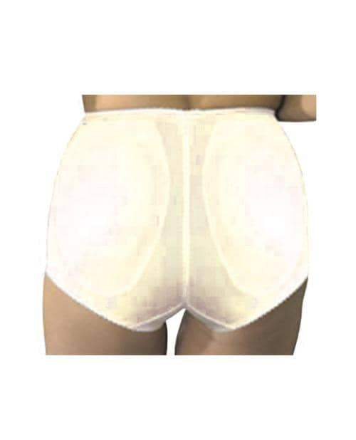 Rago Shapewear Rear Shaper Panty Brief Light Shaping W-removable Contour Pads Beige 2x - Rago Foundations LLC - Climactic Adventures