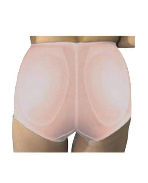 Rago Shapewear Rear Shaper Panty Brief Light Shaping W-removable Contour Pads Mocha Md - Rago Foundations LLC - Climactic Adventures