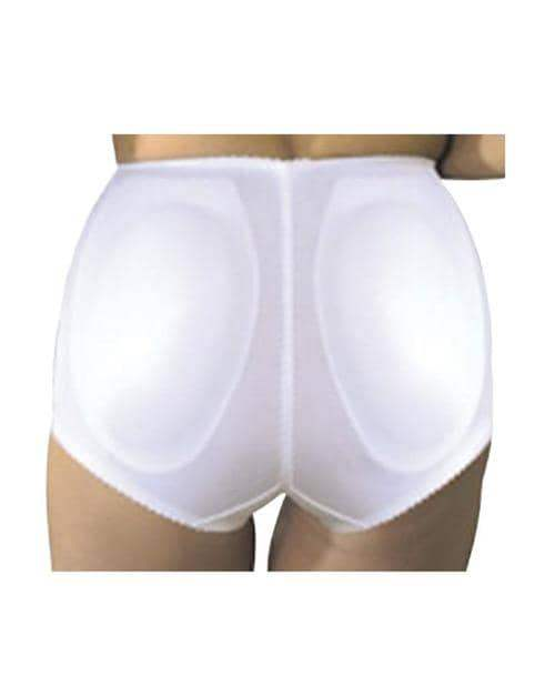 Rago Shapewear Rear Shaper Panty Brief Light Shaping W-removable Contour Pads White Xl - Rago Foundations LLC - Climactic Adventures