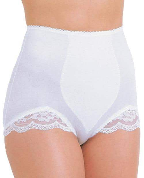 Rago Shapewear Panty Brief Light Shaping White Md - Rago Foundations LLC - Climactic Adventures