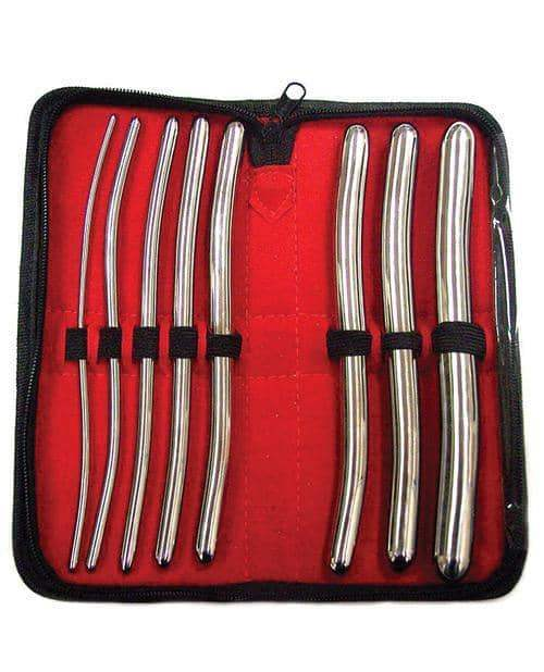Rouge Stainless Steel Hegar 8 Pc Dilator Set - Rouge Garments Ltd - Climactic Adventures
