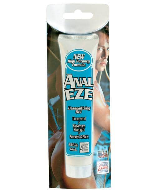 Anal Eze Cream 1.5 Oz - Climactic Adventures