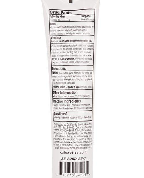 Tush Eze Desensitizing Gel - 1.5 Oz - California Exotic Novelties - Climactic Adventures