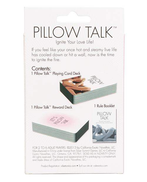Pillow Talk Card Game - California Exotic Novelties - Climactic Adventures