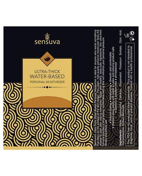 Sensuva Ultra Thick Water Based Personal Moisturizer - 1.93 Oz  Salted Caramel - Sensuva Valencia Naturals - Climactic Adventures