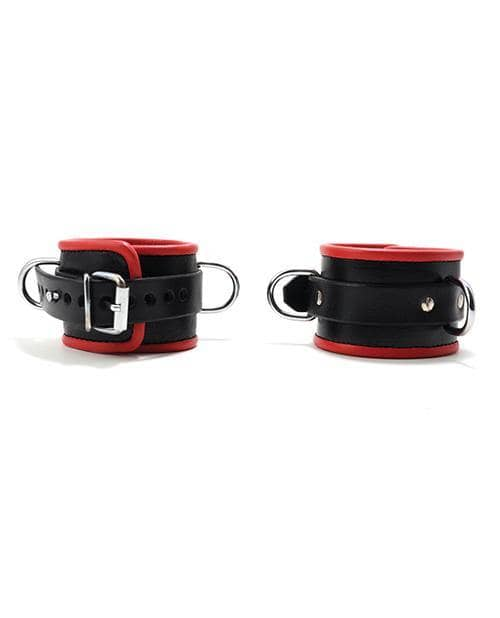 665 Padded Locking Wrist Restraint - Red - Climactic Adventures