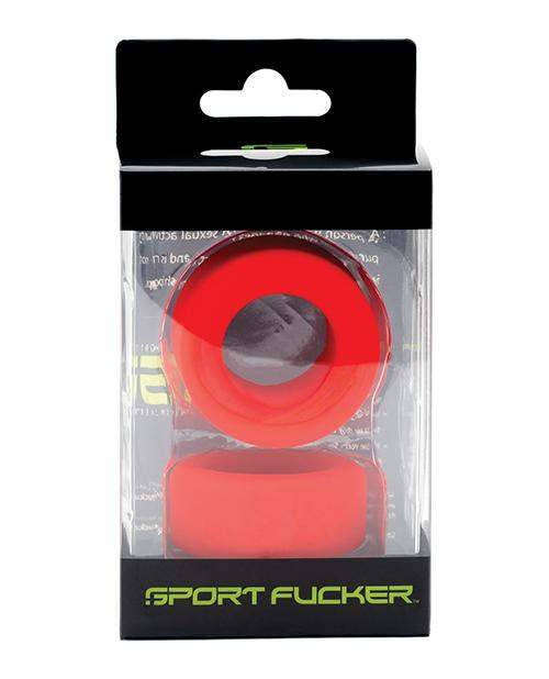 Sport Fucker Nutt Job Ring - Red - 665 INC - Climactic Adventures