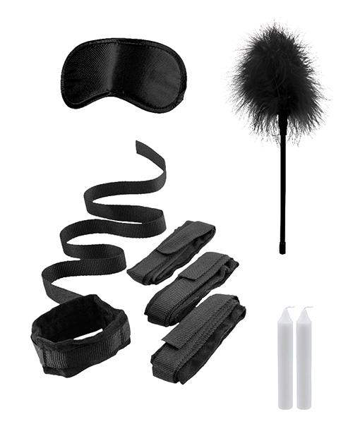 Shots Ouch Bed Bindings Restraint Kit - Black - Shots America LLC - Climactic Adventures