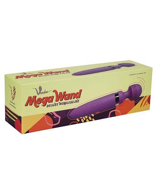 Voodoo Deluxe Mega Wand 28x - Purple - Thank Me Now INC - Climactic Adventures