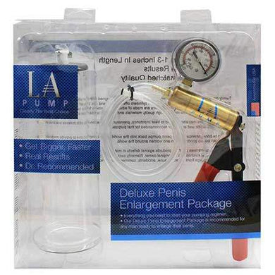 LA Pump Regular 2in Cylinder & Deluxe Pump - Advanced Enlargement Technology Inc. - Climactic Adventures