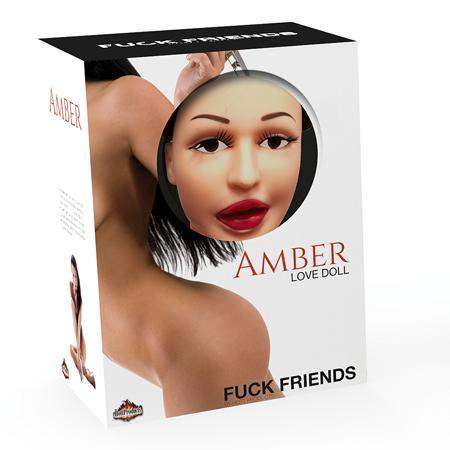 Fuck Friends Amber Love Doll - Hott Products Unlimited - Climactic Adventures